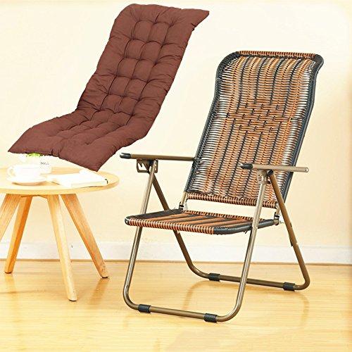 YNN Chaise Pliante inclinable Chaise de Bureau Chaise d'ordinateur Chaise de conférence ménage Chaise paresseuse Chaise Ancienne Chaise en Osier extérieur Chaise de Plage décontractée (Couleur : 3)