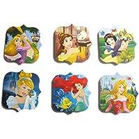 12 x Disney Princess Bloc de notas de fiesta Saco de dormir Belleza Rapunzel Cenicienta Blanca de Nieve Ariel Rapunzel