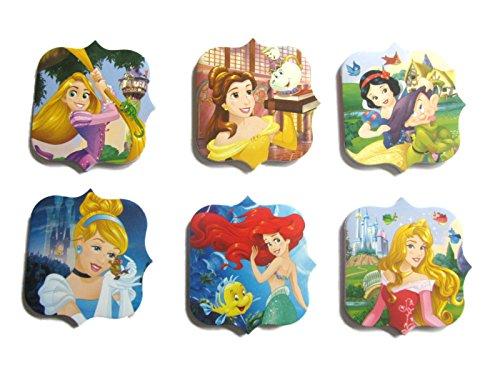 12x disney princess note pads party bag fillers sleeping beauty rapunzel cinderella snow white ariel rapunzel