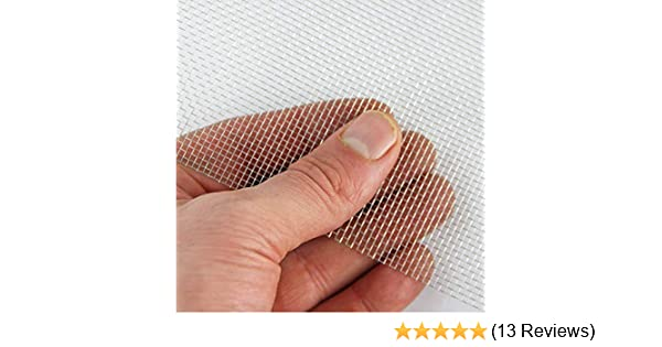 Stainless Steel Mesh 14 LPI x 1.55mm Hole x 0.24mm Wire A4 x 3 BugMesh