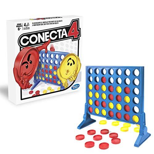 Hasbro Gaming Juego de Habilidad Conecta 4, Multicolor (A5640B09)