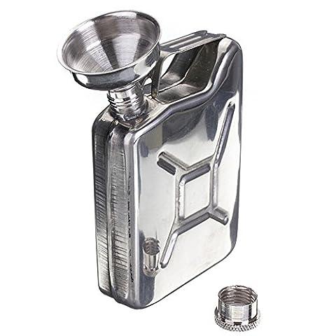 +ing Portable 50oz Stainless Steel Mini Hip Flask Liquor Whisky Pocket Bottle With Funnel
