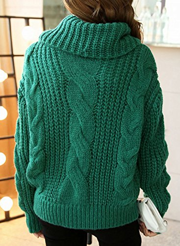 Futurino - Pull - Manches Longues - Femme Taille Unique green