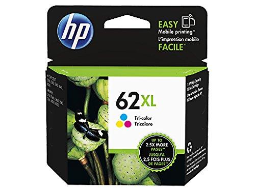 HP 62XL Farbe Original Druckerpatrone mit hoher Reichweite für HP ENVY, HP Officejet