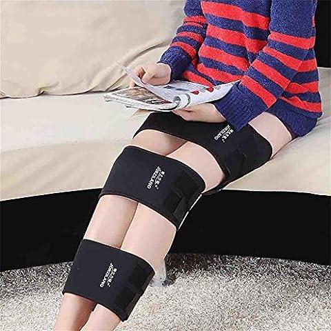 XIXI O Formulaire X Forme Jambières Correction Ceinture Intensive Corrective Leg Bandage Beauté Foot Care Tools Noir,Grand