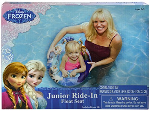 Disney Frozen Pool Float Seat - Baby Toddler Ride-in Swim Ring by Disney (Frozen-pool Disney)