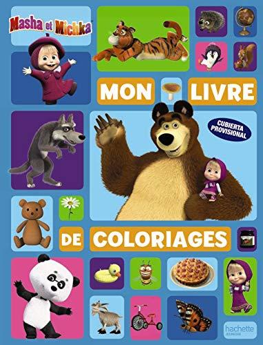 Masha y el Oso. Mi libro para colorear (Hachette Infantil - Masha...