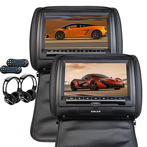 Eincar 9 '' Univresal coches reproductor DVD reposacabezas
