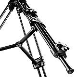 Walimex Pro EI-9901 Video-Pro-Stativ (max. Höhe 138 cm, Videoneiger, Mittelspinne, Belastbarkeit 6 kg und Stativtasche) - 5
