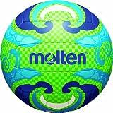 molten Beachvolleyball Unisex, mehrfarbig (grün/blau), 5, V5B1502-L