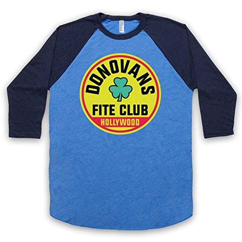 The Guns Of Brixton Ray Donovan Donovan's Fite Club Shamrock 3/4 Manches Retro T-Shirt de Base-Ball