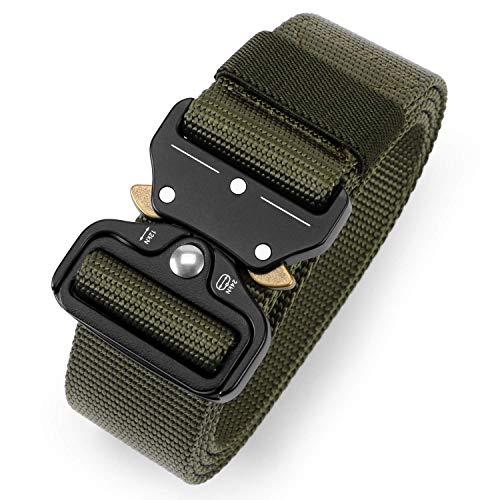 APERIL Taktische Pflicht Rigger Gürtel, MOLLE militärischen Schnellverschluss Schnalle Taillenband, Nylon Web EDC Waistbelt -