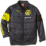 PUMA Kinder Jacke BVB Padded Training Top with Sponsor