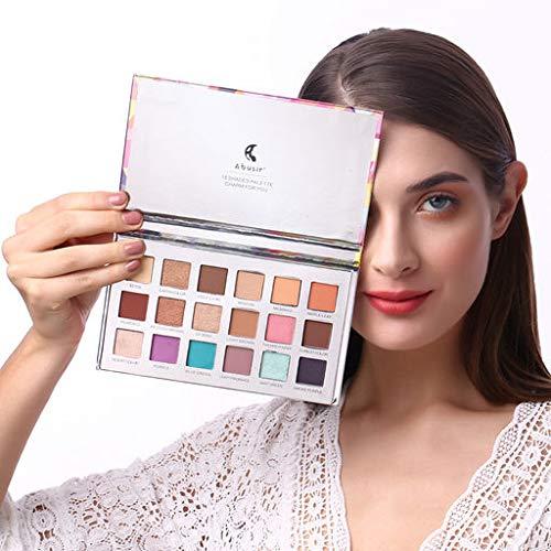 Valentine 's Beste Geschenke für Frauen !!! Beisoug Sexy 18 Farben Lidschatten Diamant Makeup Perle...