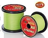 WFT KG STRONG Schnur geflochtene 600m 0,18mm 22kg, Farbe:Gelb