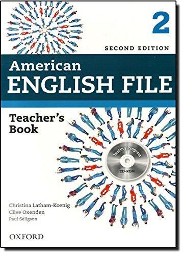 American English File 2E 2 Teacher book: With Testing Program by Christina Latham-Koenig (2013-09-15)