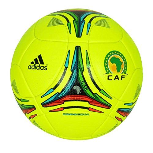 Adidas Comoequa CAF Africa Cup 2012 Gr. 5 OMB Matchball Spielball ACN Gabun gelb Caf ? Cup