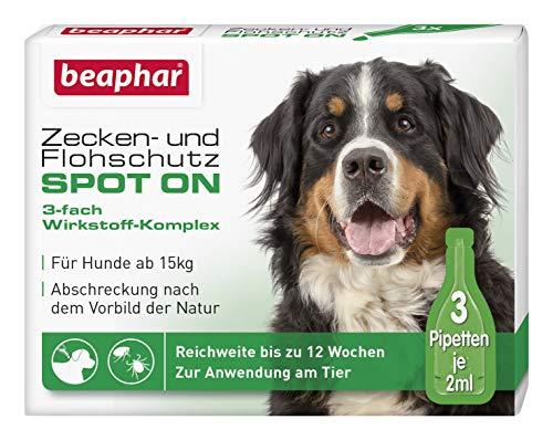 Zecken- und Flohschutz SPOT ON für Hunde über 15 kg -