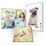 Memoboard - Personalisierbar mit Ihrem Wunschmotiv - SOFORT VORSCHAU - 60 x 40 cm/40 x 60 cm/40 x 40 cm einzigartige Geschenkidee, mit Ihrem eigenem Foto - Kind - Familie - Haustier – Urlaub