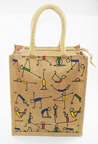 Classy Style Jute Shopping/lunch Bag