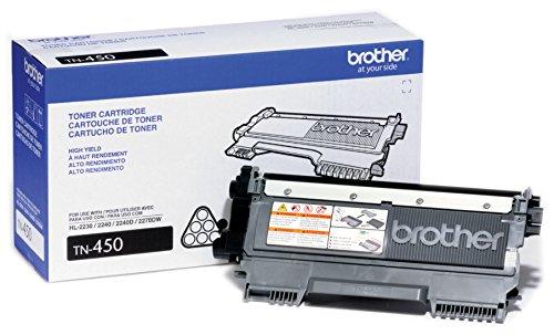 Preisvergleich Produktbild Brother TN450–Toner patrone–Hohe Ergiebigkeit–1x Schwarz–2600seiten