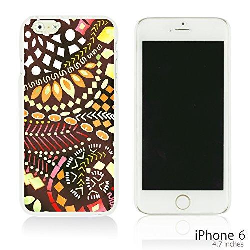 OBiDi - Geometrical Pattern Hardback Case / Housse pour Apple iPhone 6 / 6S (4.7 inch)Smartphone - Funny Tribal Print Beautiful Designed Pattern