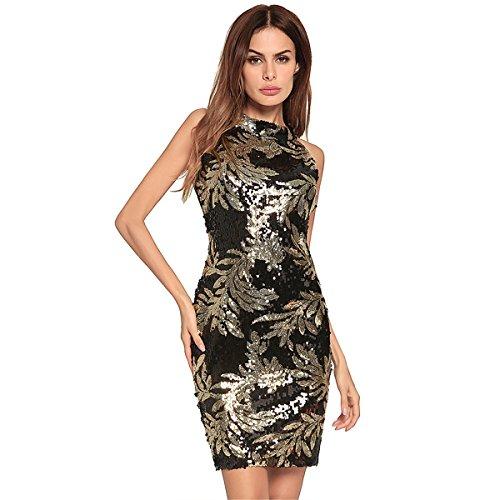 Festlich Partykleid | Damen Kleid | Kleid Kleid Frauen in Europa und Nordamerika Ärmelloses...
