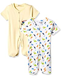 Cloth Theory Baby Boys' Romper Suit (Pack of 2)