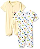 Cloth Theory Baby Boys' Romper Suit (Pack of 2)(ICWN BSST 003_Multicolour_6-9 months)