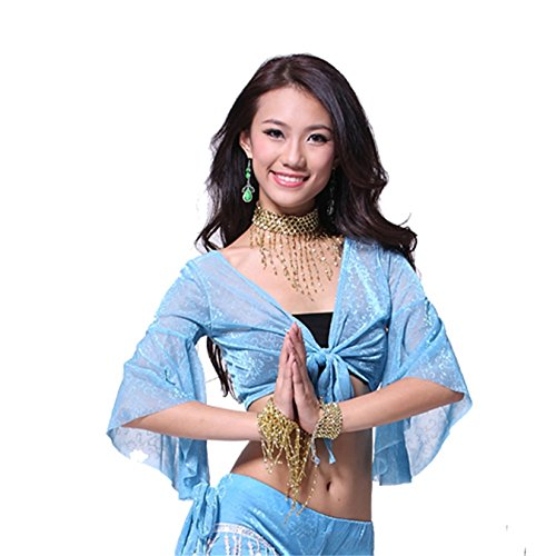 Dance Tops Bauchtanz Costume Sexy Bra Dancewear Blouse Bauchtanz Tops Bra Top (Zigeuner Stammes Bauchtanz Kostüme)
