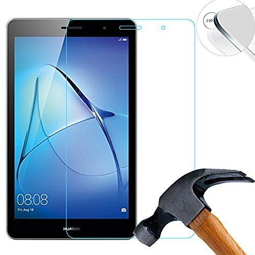 vetro temperato tablet 7 pollici Lusee 2 x Protezione Schermo Vetro Temperato per Huawei MediaPad T3 (BG2-U01) Versione 3G 7.0 Pollice Film Ultra-Duro Vetro 9H