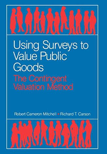 Using Surveys to Value Public Goods: The Contingent Valuation Method (Resources for the Future) por Robert C. Mitchell