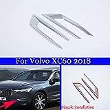 2 ABS Vergoldung Automarke Nebelscheinwerfer RAHMEN Front Nebel Lampe Schwanz Nebel Lampe Zeichen für XC60 2018