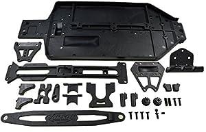 Carson 500405571 - Dirt X10EB Guerrero Piezas Especiales Chasis Set, Accesorios