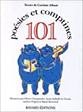 101 Poésies et comptines de Albaut. Corinne (1993) Relié