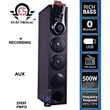 ELECTROSAC 500w 25000 PMPO Dj Tower Speaker Boom Bass Home Theater Speaker System wth Bluetooth,Aux,FM,USB,TV,Remote