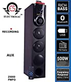 Best Tower - ELECTROSAC 500w 25000 PMPO Dj Tower Speaker Boom Review