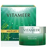 VITAMEER® Anti Falten Gesichtscreme für reifere Haut, vegan, mit Meereswirkstoffen   hilft,...