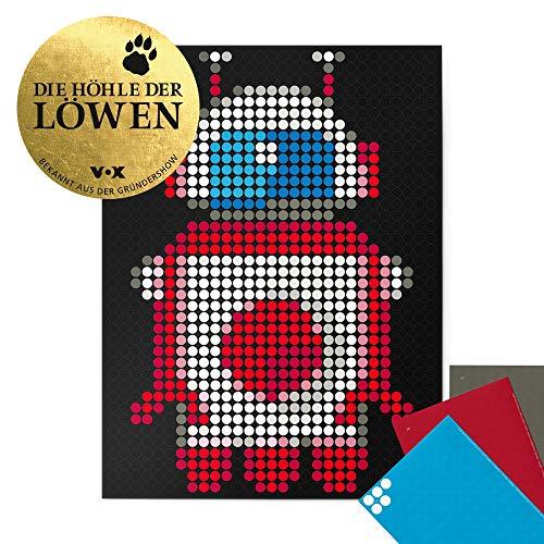 """dot on Roboter Poster - 30 x 40 cm Bekannt Aus""""Die Höhle Der Löwen"""" dot on art Diy Kleb Dir Dein Eigenes Kunstwerk robot"""