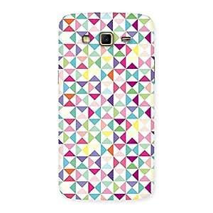 Premium Trangel Color Print Back Case Cover for Samsung Galaxy Grand 2