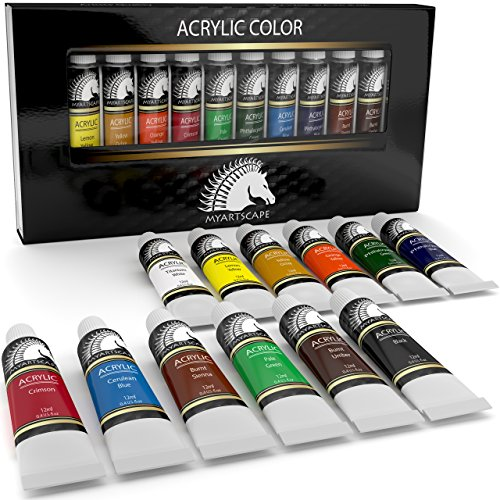 acrylic-paint-set-artist-quality-paints-for-painting-canvas-wood-clay-fabric-nail-art-ceramic-crafts