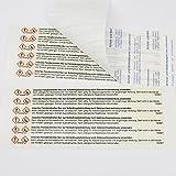 com-four® 36x Fliegenstreifen, Fliegen-Fensterstreifen, gegen Fliegen, Mücken etc. im Haus (36 Stück - Streifen) Vergleich