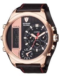 DETOMASO Herren-Armbanduhr Palermo Analog-Digital Quarz DT2052-C