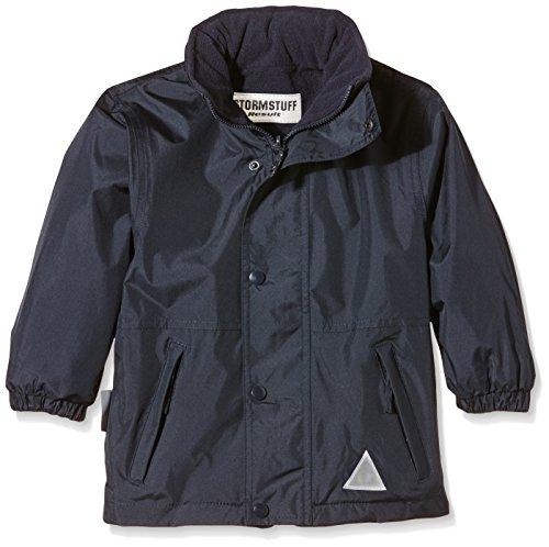 Result Kids/ Youths Storm Stuff Reversible Waterproof Jacket, Blau (Navy), XL Youth Reversible Jacket