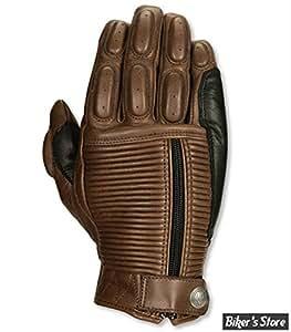 Roland Sands Design - Gant RSD pour Homme - Dezel - Couleur: Tabac - Taille: L