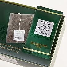 Tisana de Menta DAMMANN FRÈRES 24 sobres Cristal France Menthe poivrée Infusion teabags (Fra)