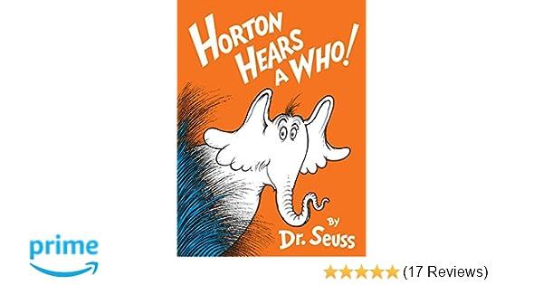 Horton Hears a Who! (Classic Seuss): Amazon.de: Dr. Seuss ...