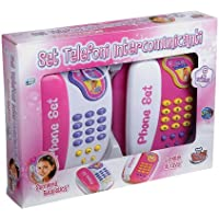 Grandi Giochi GG62100 - Set de 2 teléfonos intercomunicantes