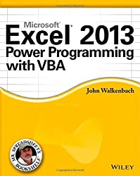 Excel 2013 Power Programming with VBA (Mr. Spreadsheet's Bookshelf)