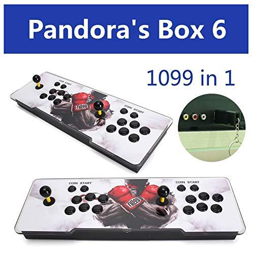 Kid Game Fashion Geschenk 1099 in 1 P Andora es Box 6 Arcade Console Double Joystick Video Games HDMI USB Children Gift Party Fun Birthday Geschenk